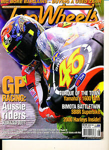 Two Wheels Magazine Sept 1999 Bimota XV1600 H-D Road King ER-5 ZX-9R KR250 #2