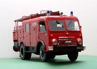 Modelik 23/11  - Feuerwehr Star 20 GH8 mit Lasercutteilen    1:25