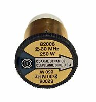 Coaxial Dynamics 82006 Element 0 to 250 watts for 2-30 MHz - Bird Compatible