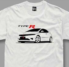 T-shirt for honda civic type r fans fn2 jdm tshirt s-5xl