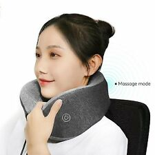 Xiaomi Multi-Function U-Shaped Neck Pillow - Massage, Lightweight, 95% Cotton, Q