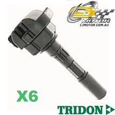 TRIDON IGNITION COIL x6 FOR Honda  Legend KA7 04/91-03/96, V6, 3.2L C32A3