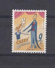 Repubblica Ceca 2001 n. 279 Primo francobollo ceco nuovo millennio MNH