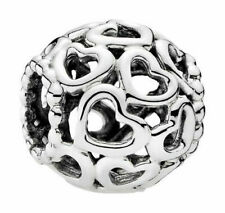 PANDORA 790964 Silber 925 Charm Herzen Bead Element (c)