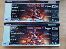 2x IRON MAIDEN Tickets Bremen 13.06.2021, Bürgerweide, freie Platzwahl