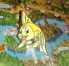 Pin Disney Paris DLP Cast Member Refresh Lanyard Cleo Goldfish Poisson Pinocchio