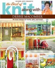 The Best of Knit Along With Debbie Macomber (Leisure Arts) Free Shipping!