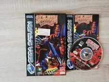 Skeleton Warriors Sega Saturn Complete good Condition PAL