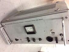 Rohde Schwarz Tube Power Amplifier Ultra Rare Leistungsverstärker Wz EL34 E80CC