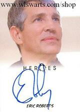 Heroes Eric Roberts As Thompson Autograph Card Rittenhouse Rewards VERY RARE!