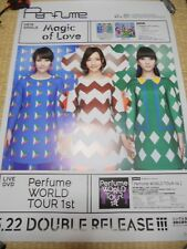 Perfume [Magic of Love ] promo POSTER Japan Limited! KAWAII!!!