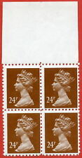 1993 ( SG. X969 ). 24p chestnut FORGERY. UNMOUNTED MINT
