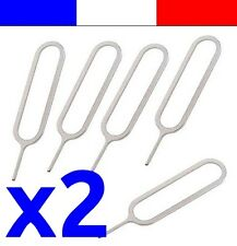 2x extracteur de carte sim pour iphone 2G 3G 3Gs 4 4S 5 ipad 1 2 mini