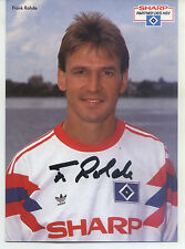 AK 4057 Frank Rohde - Hamburger SV 1990/91, National player DDR