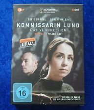 Kommissarin Lund Staffel I Das Verbrechen, DVD Box Season 1 Fall Folgen 1-10