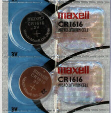 2PC MAXELL CR1616 1616 Coin Cell Lithium Battery