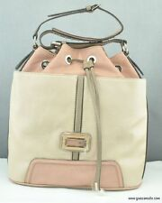 NWT Handbag GUESS Sauvage Satchel Ladies Tan Multi Authentic