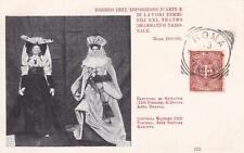 C4122) ROMA 1899, LAVORI FEMMINILI, BAMBOLE ELEONORA DI GUYENNE E MATILDE. VG