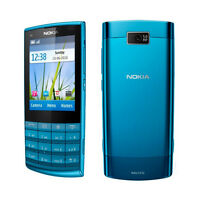 Unlocked Nokia X3-02 Touch and Type Cellular Phone WIFI Black White Rose Blue