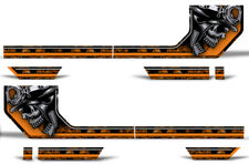 Rally Race Stripes Side Graphic Kit Truck Decal Fits: Ford F150 15-17 HAVOC O