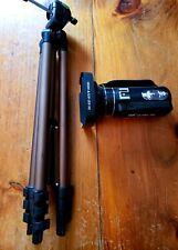 SAULEOO 4K Video Camera Camcorder Digital WithLightweight Camera Mount Tripod