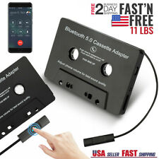 Wireless Mp3 Aux Bluetooth 5.0 Car Audio Stereo Cassette Tape Adapter Hands-Free