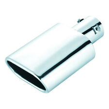 Letterbox Stainless Steel Exhaust tip fits Exhausts of 50mm Circumference