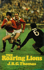 THE ROARING LIONS by JBG THOMAS BRITISH LIONS TOUR 1971 RUGBY BOOK  VERY GOOD