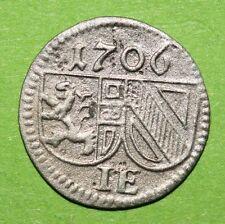 MAGMA Salzburg, Johann Ernst Thun , Pfennig 1706, ss+ , Z.2307, Pr.1940