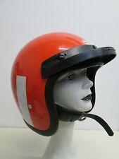 Vtg 70's Bell R-T Helmet Orange Motorcycle Racing 7-1/4 1974 star toptex magnum