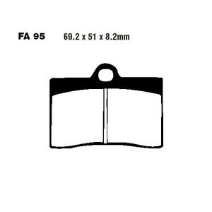 Brake Pads Front Suitable For Laverda Ghost 650 Year 1996-1998