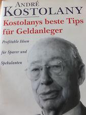 Andre Kostolany beste Tipps für Geldanleger