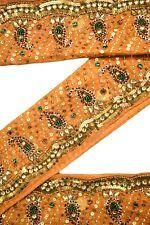 Vintage Saree Embriodered Border Trim Indian Ribbon Trim Sari Trim By 1Yd ST1958