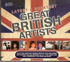 (FD444A) Latest And Greatest British Artists, 60 tracks various artists - 2012