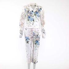 Geblümte Damen-Anzüge & -Kombinationen mit Hose