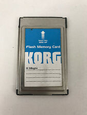 KORG Flash Memory Card 8 MB Mbyte For PA80 PA60 PA50 High Quality Made In USA