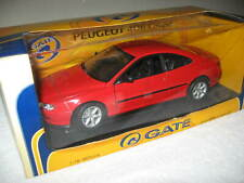 PEUGEOT 406 COUPE RED 1:18 SCALE OPENING HOOD  DOORS & TRUNK,  RARE ITEM!