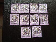 AUTRICHE - timbre yvert et tellier n° 1937 x10 obl (A01) stamp austria (Y)