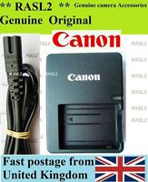Genuine Canon Charger LC-E5E For LP-E5 EOS 1000D 500D 450D Rebel XS XSi T1i
