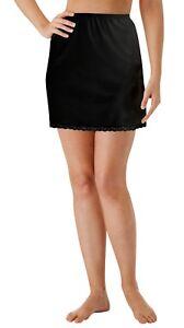 Velrose Lingerie Nylon Essentials 15 Inch Half Slips  Style 2715  Sizes to 3X