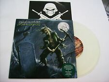 "IRON MAIDEN - THE REINCARNATION OF BENJAMIN BREED - RARE 10"" CLEAR VINYL NEW"