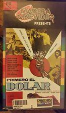 PRIMERO EL DOLAR. DAVID REYNOSO, SALVAT, ROCHA....   RARE SPANISH VIDEO.