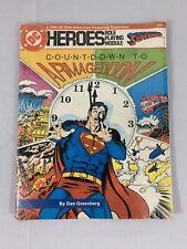DC Heroes 1986 Comics Lot Of 2 Superman And Brainiac