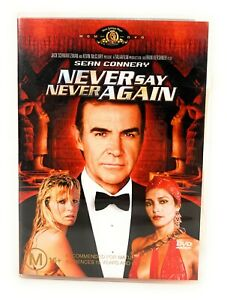 Never Say Never Again (DVD, 1983) Sean Connery Region 4 Free Postage