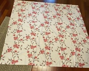 """MAINSTAYS PINK FLORAL SHOWER CURTAIN 72"""""""