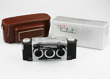 DAVID WHITE Stereo Realist Stereo Camera 1041 + Box & Case 'IMMACULATE' (PZ84)