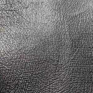 Piece of Shark Skin Genuine Leather Black Leather Size 1.2 SF
