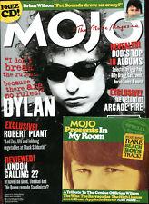 MOJO + free CD ... No. 158  January 2007  :  Bob Dylan /  Beach Boys