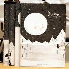"""""""Bye Bye"""" Exercise Book Pack of 4 Lined Notebook Diary Notepad Study Journal"""