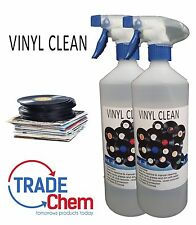 Vinyl Clean - Record Cleaner - Anti Static 2 x 1L